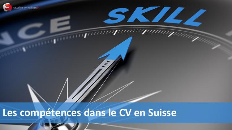 Les compétences dans le CV suisse