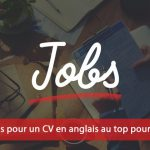 CV anglais pour la Suisse