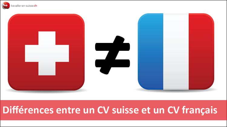 Différences entre un CV suisse et un CV français