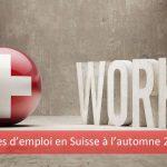 Perspectives d'emploi en Suisse - Automne 2016