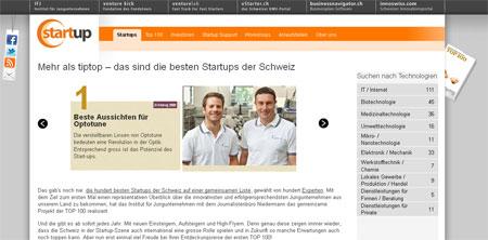 annuaire des 100 start ups suisses les plus prometteuses travailler en suisse. Black Bedroom Furniture Sets. Home Design Ideas