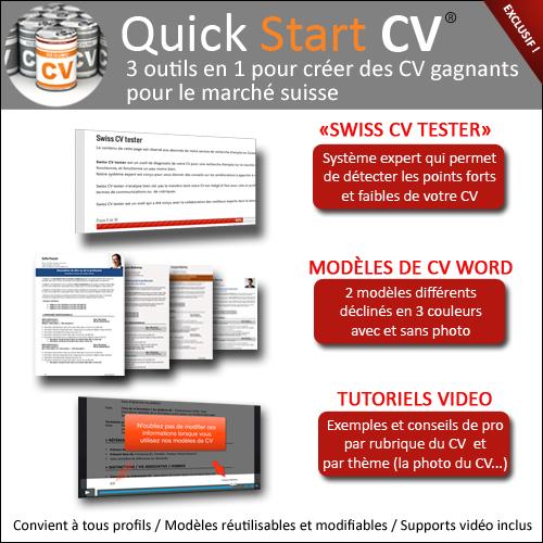 mod u00e8les de cv suisse et outils pour la performance du cv
