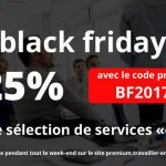 black friday : 25% de réduction sur une sélection de services