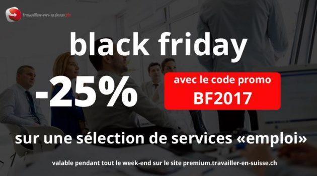 black friday : 25% de réduction sur une sélection de services