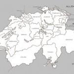 Villes et cantons suisses
