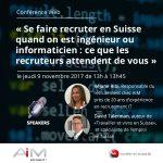 conférence sur le recrutement des ingénieurs et informaticiens en Suisse