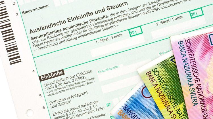 Déclaration d'impôts en Suisse