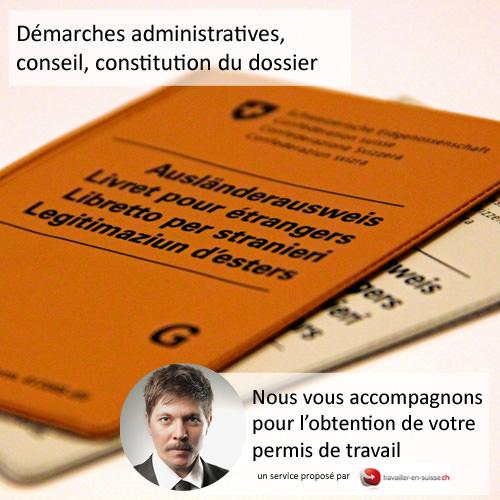 service de demande de permis de travail en suisse