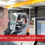 dynamique de l'emploi des PME suisses