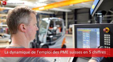 La dynamique de l'emploi des PME suisses en 5 chiffres