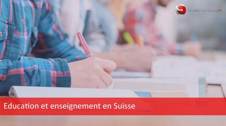 education et enseignement en suisse