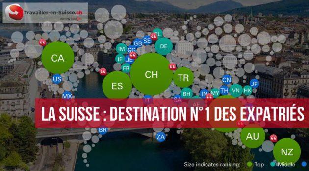 La Suisse, destination n°1 des expatriés