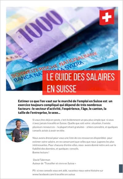 Guide des salaires en Suisse