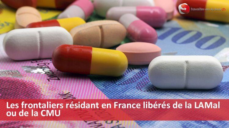 Libération assurance maladie frontaliers