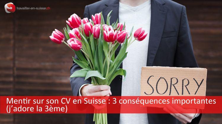 Mentir sur son CV en Suisse : les conséquences