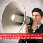 Postes à pourvoir immédiatement en Suisse : comptable fiduciaire et chef de mission comptable