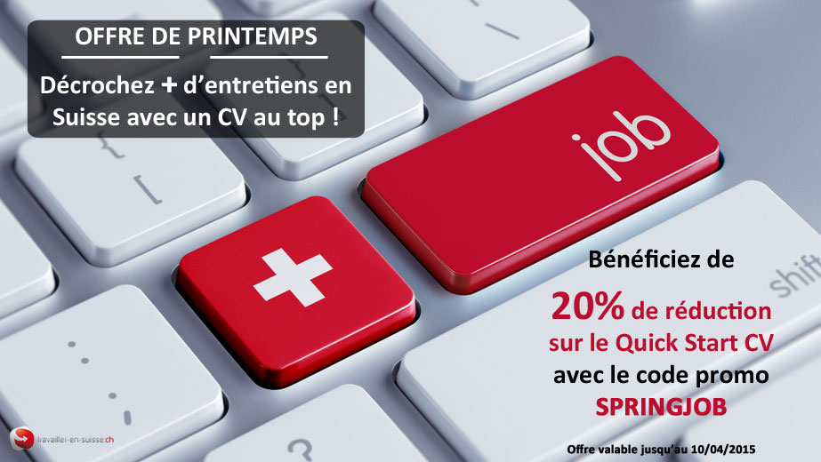 offre de printemps   20  de r u00e9duction sur quick start cv