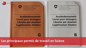 permis B et permis G en Suisse