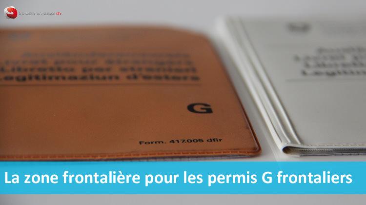 Permis G frontaliers