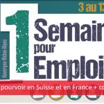 250 postes à pourvoir en Suisse et en France le 12 octobre 2017 [hautes technologies]