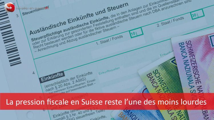 pression fiscale impôt sur le revenu suisse