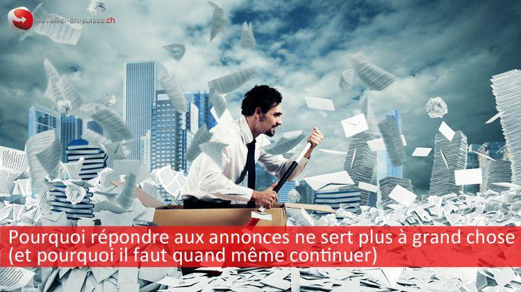 Réponse annonces offres d'emploi en Suisse